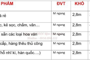 Báo Giá Các Loại Rèm Voan Tại Hà Nội
